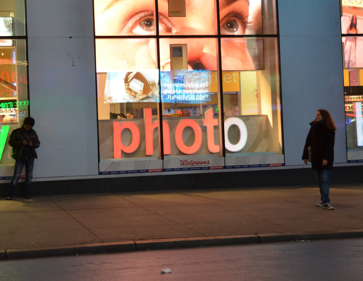 photo, Tiimes Square