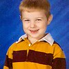 Paul's kindergarten school picture