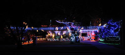 The winners of Gold Coast City Council Christmas Lights 2011 - 2nd Place (Southport, 37 Eugaree Street)