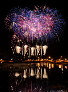World fireworks championship 2010, Qurum natural park, Muscat, Oman. Day 2: Howard and Sons