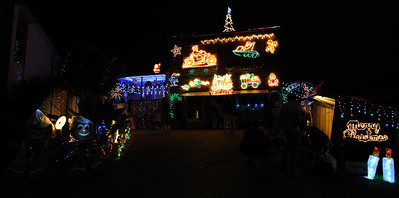 The winners of Gold Coast City Council Christmas Lights 2011 - 3rd Place  (Molendinar, 5 Mintwood Place)