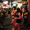 Walking street scenes, Pattaya, Thailand