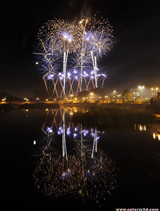 World fireworks championship 2010, Qurum natural park, Muscat, Oman. Day 4: Zambelli
