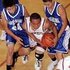 Santa Fe Indian School boys basketball game vs. Laguna-Acoma on Nov. 19, 2009. <br />  Natalie Guillen/The New Mexican