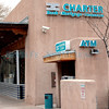 The Charter Bank photographed in Santa Fe, N.M. on Dec. 7th, 2009. The Charter Bank of Santa Fe received an order to cease and desist from certain practices from the Office of Thrift Supervision.  <br /> Leigh Fagerstrom/The New Mexican