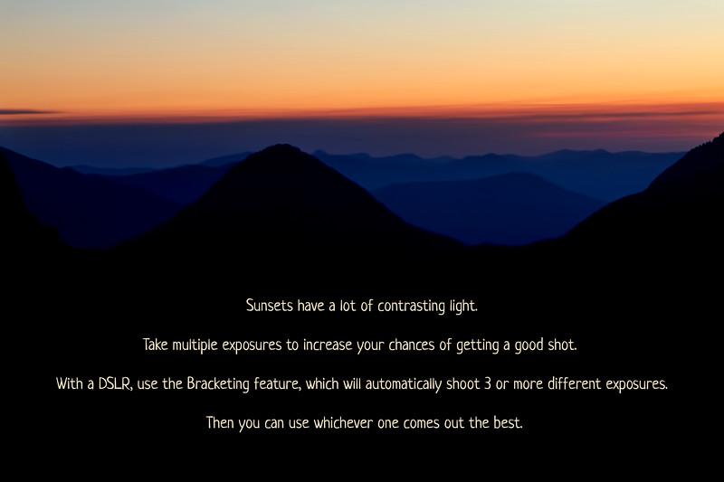 Sunset/Sunrise Photography Tip #2