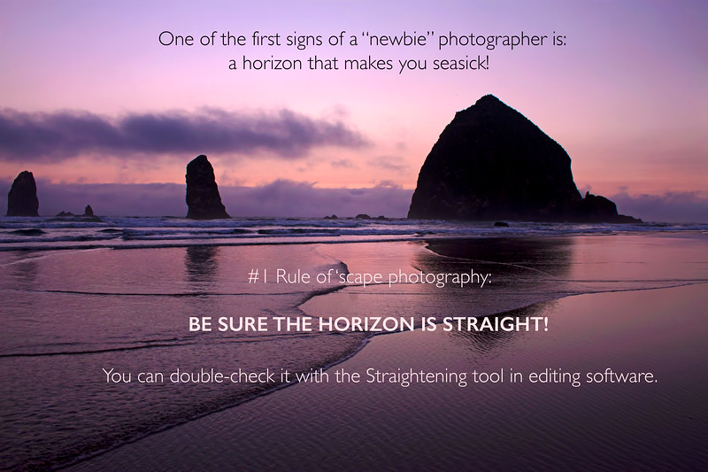 Photography tip for Landscapes
