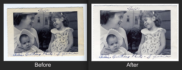 My latest restoration is for a milestone birthday gift from one good friend to another. What a delight!  #FtLauderdalePhotoRestoration #PhotoRestoration #PhotoRepair #OldPhotoRestoration #BeforeAndAfter #retouch #retoucher #SouthFloridaPhotoRestoration #OldPhotos #FamilyTree #VintagePhotos #SaveOldPhotos #CandaceWestPhotoRestoration #SavingYesterday