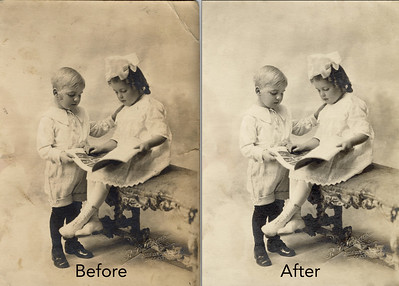 Cracks, emulsion degradation and dust are a common problem with ancestry photos.   #PhotoRestoration #PhotoRepair #OldPhotoRestoration #BeforeAndAfter #retouch #retoucher #SouthFloridaPhotoRestoration #OldPhotos #FamilyTree #VintagePhotos #SaveOldPhotos #CandaceWestPhotoRestoration #SavingYesterday