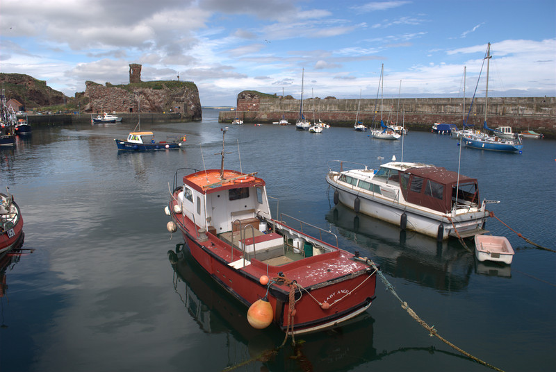 Dunbar outer Harbour, Scottish Borders Sept 2009