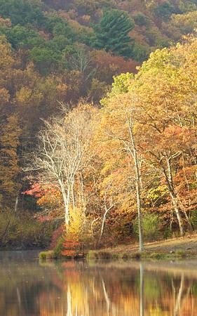 Golden Reflection<br /> Delaware Water Gap, Pennsylvania