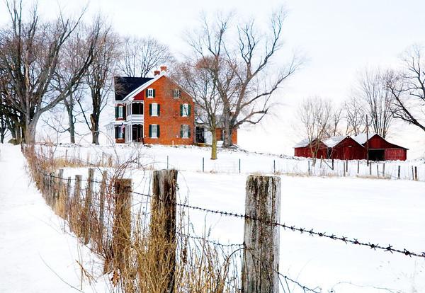 First Snow<br /> Sharpsburg, Maryland