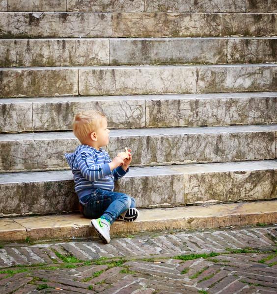 Steps at Divina Bellaza, Siena