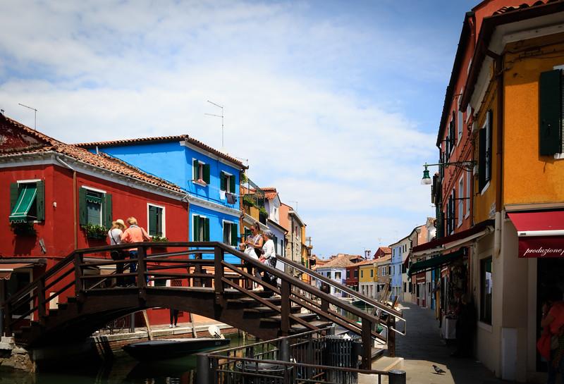 Burano Canal Bridge