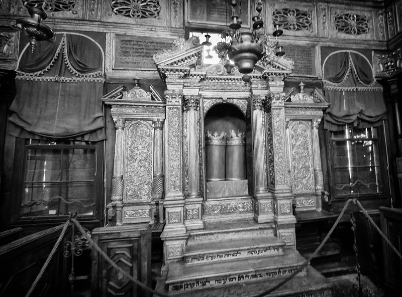 Venice Synagogue Arc in memory of a brother