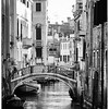 Venice Canal BW