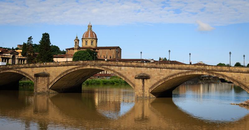 Florence, bridge over Arno