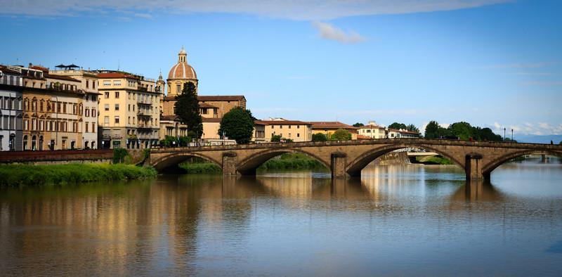 Bridge over Arno, Florence