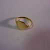 A viiew of my Signet ring, any compact could do this, but see the next image!