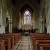 Interior of South Dalton Church, ASA 400, 1/8 second at f3.3, hand held