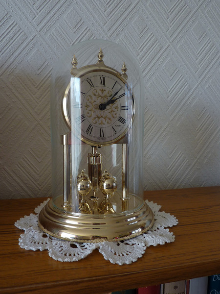 My sister's carriage clock