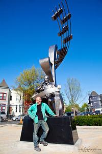 Duke Ellington Sculptor -Zachary Oxman