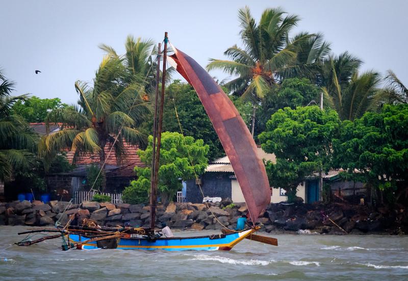 Fishing vessel near Colombo
