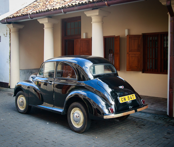 Morris, on streets of Galle
