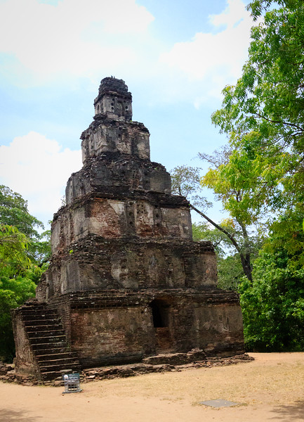 Ruins of old Tooth Temple