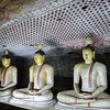 Buddhas in Cave at Dambulla