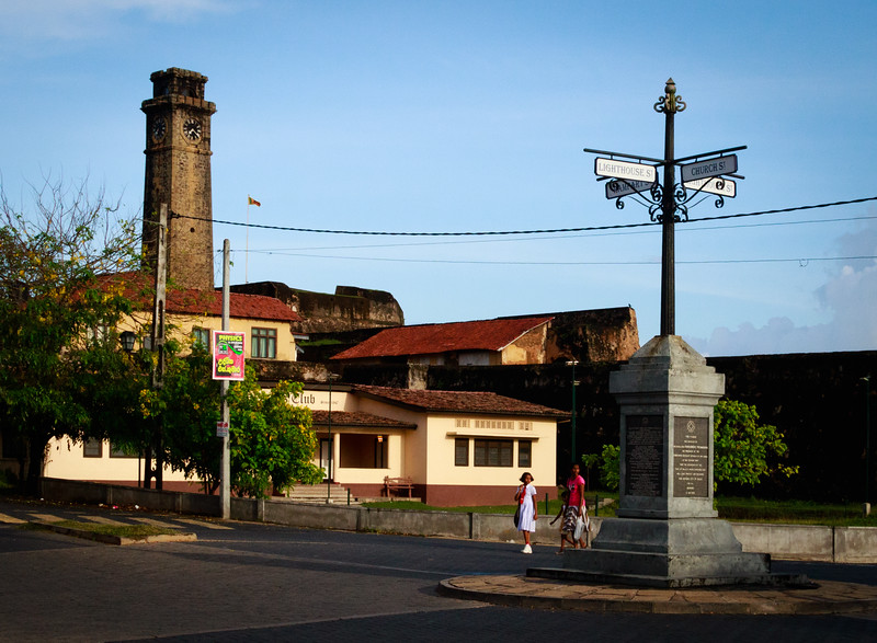 Entryway to Fort City of Galle