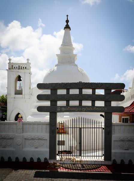 Buddhist Temple, Galle