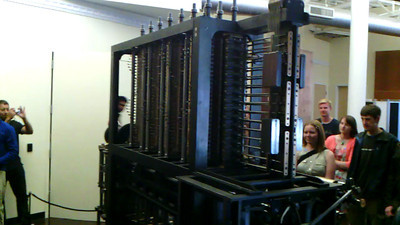 Babbage Difference Engine video2