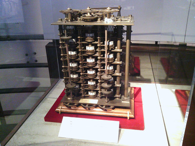 Small scale Babbage Difference Engine