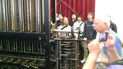 Babbage Difference Engine video1