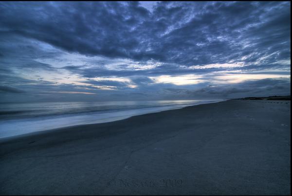 Light-Oak Island Sunset