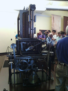 Printing end of Babbage Difference Engine