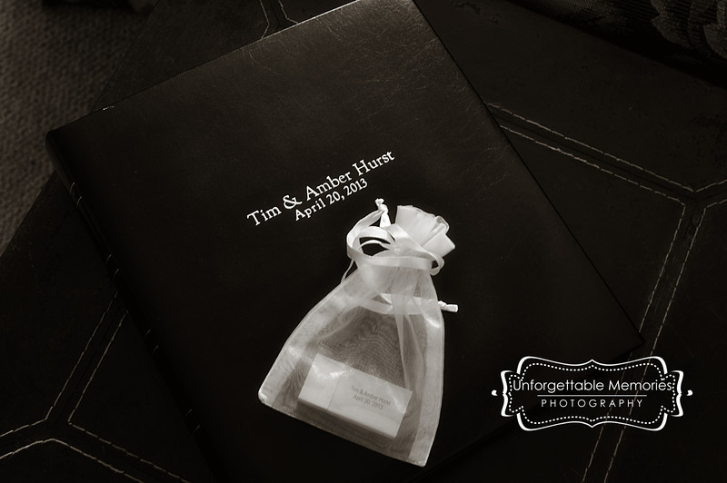 Custom Wedding Album & Custom Wood USB for Clients