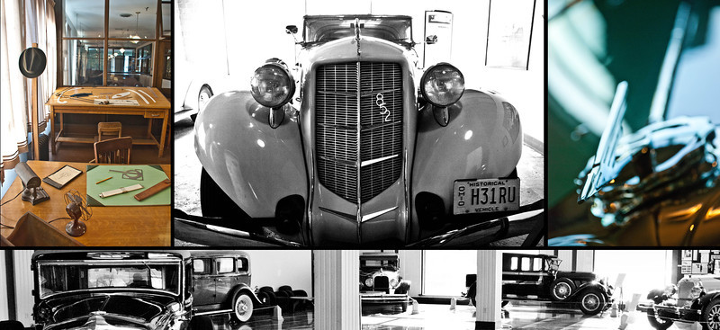 "Day 63: Harkening to an era bygone, in Auburn abides the Cord Dusenberg Automobile Museum. What beauty, what luxury. <br /> <br /> More photos from this shoot: <a href=""http://bit.ly/vRxV9s"">http://bit.ly/vRxV9s</a>"
