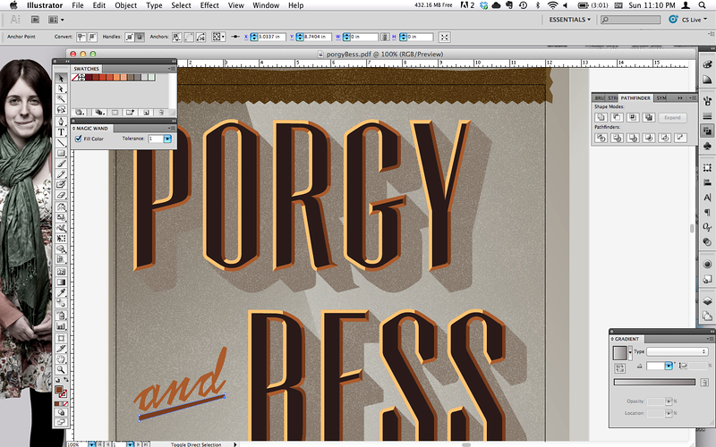 Day 52: Dustin tries his hand at rendering an Art Deco-esque logotype. Geometric type be lionized.