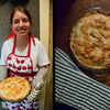 Day 44 & a Half: Dustin's wife baked them the best pie on earth. She is his favorite, and not just because she makes his tummy happy with her Praline Taffy Apple Pie.