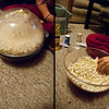 Day 38: Popcorn Sunday is now a matter of great anticipation as the Friesen's enjoy the newly exploded buttered clouds of edible happiness. A Sunday tradition has been birthed.