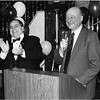 Assemblyman Anthony Seminerio and Mayor Edward Koch
