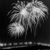 Fireworks of The Joe Addabbo Memorial Bridge, Queens, New York