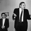 Don Manes and  Tom Santucci (son of Queens DA John Santucci)