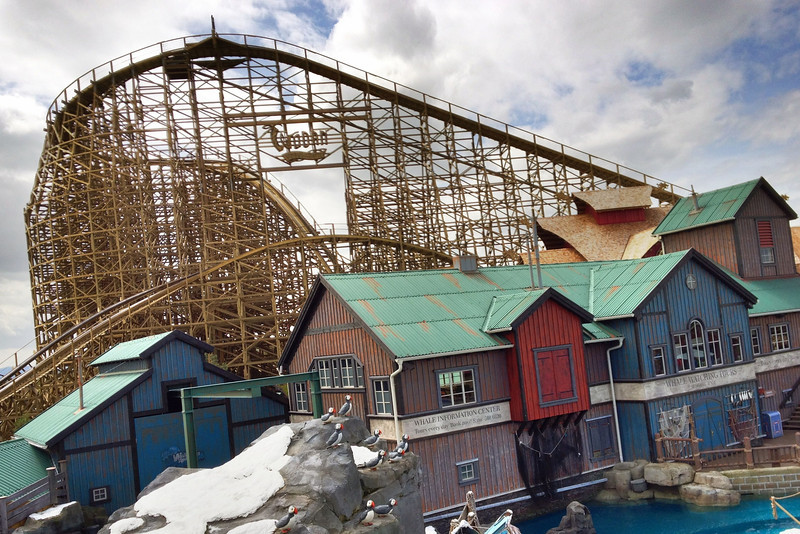 Wodan Europa Park (Allemagne) - IPhone 4S & Pro HDR