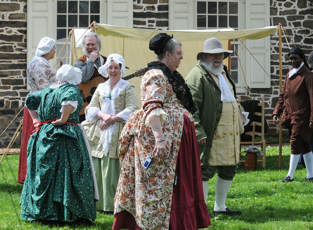. Colonial May Fair held at Pottsgrove Manor Saturday. Photo by John Strickler The Mercury