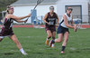 Pottstown #14 takes a shot in first half action. Photo by John Strickler/The Mercury