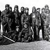 1931 – Section chasse à Istres (Tournier, Pagot, Troyes, Darras, Le Sausse, etc). Amarger assis à droite.