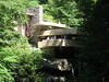 Fallingwater, a house by Frank Lloyd Wright in PA
